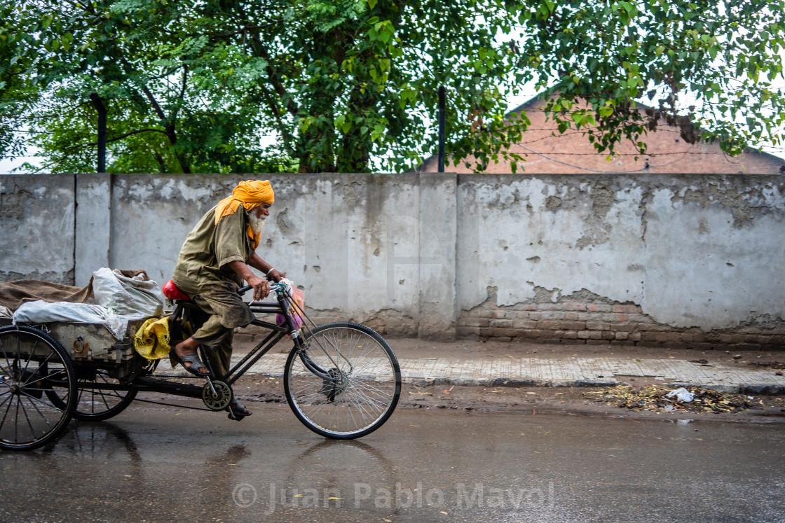 """Bicycle transport"" stock image"