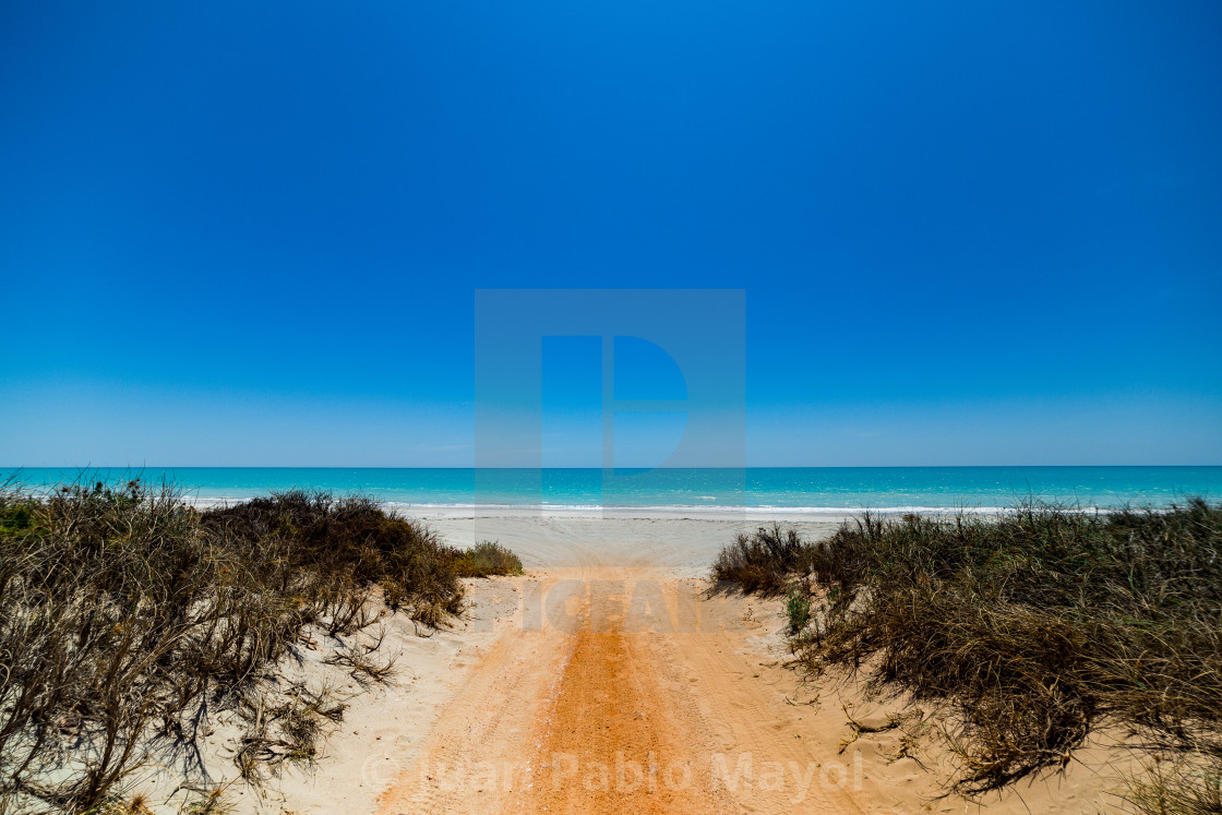 """90 miles beach"" stock image"