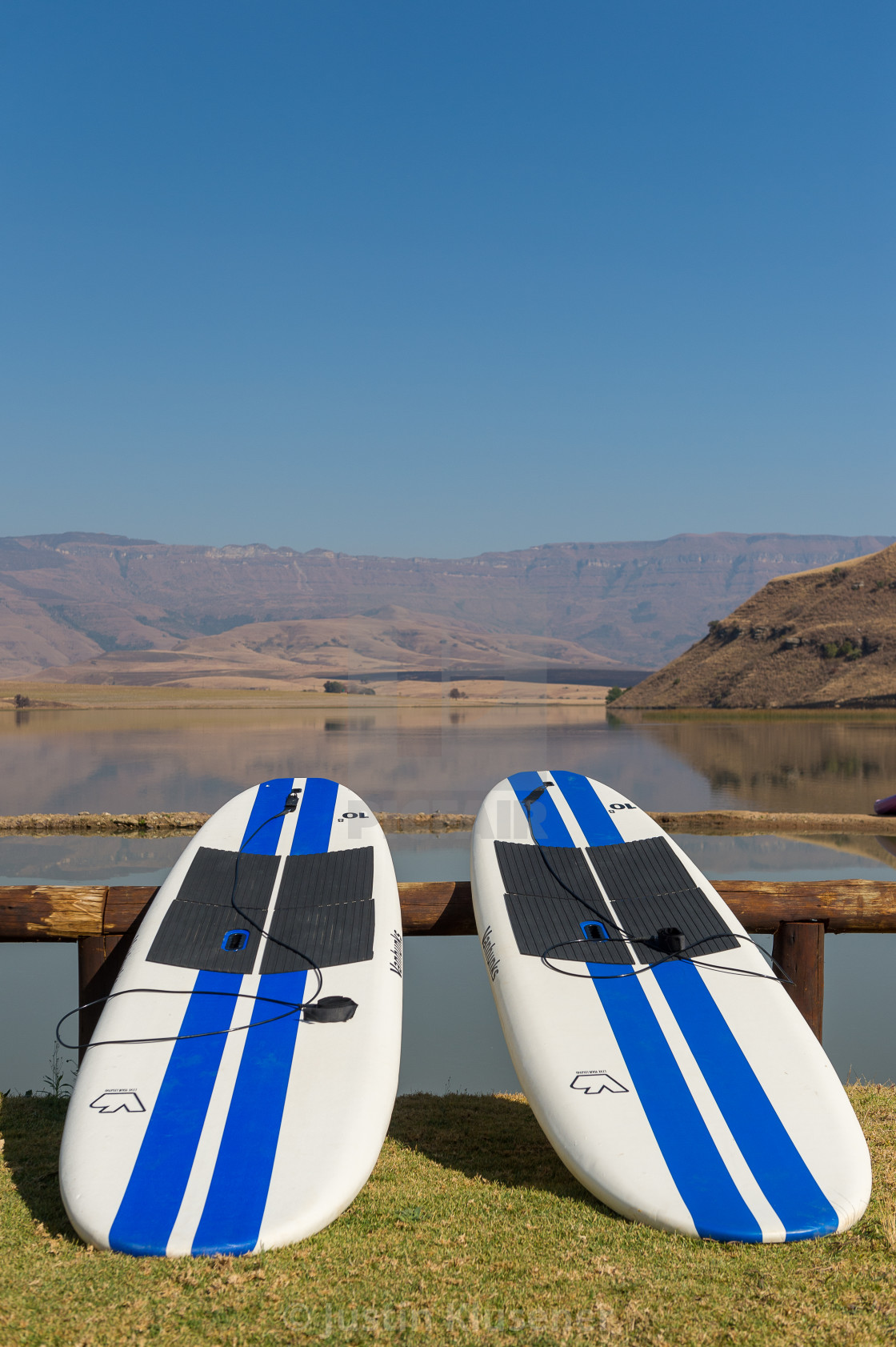 Two Stand Up Paddle Boards