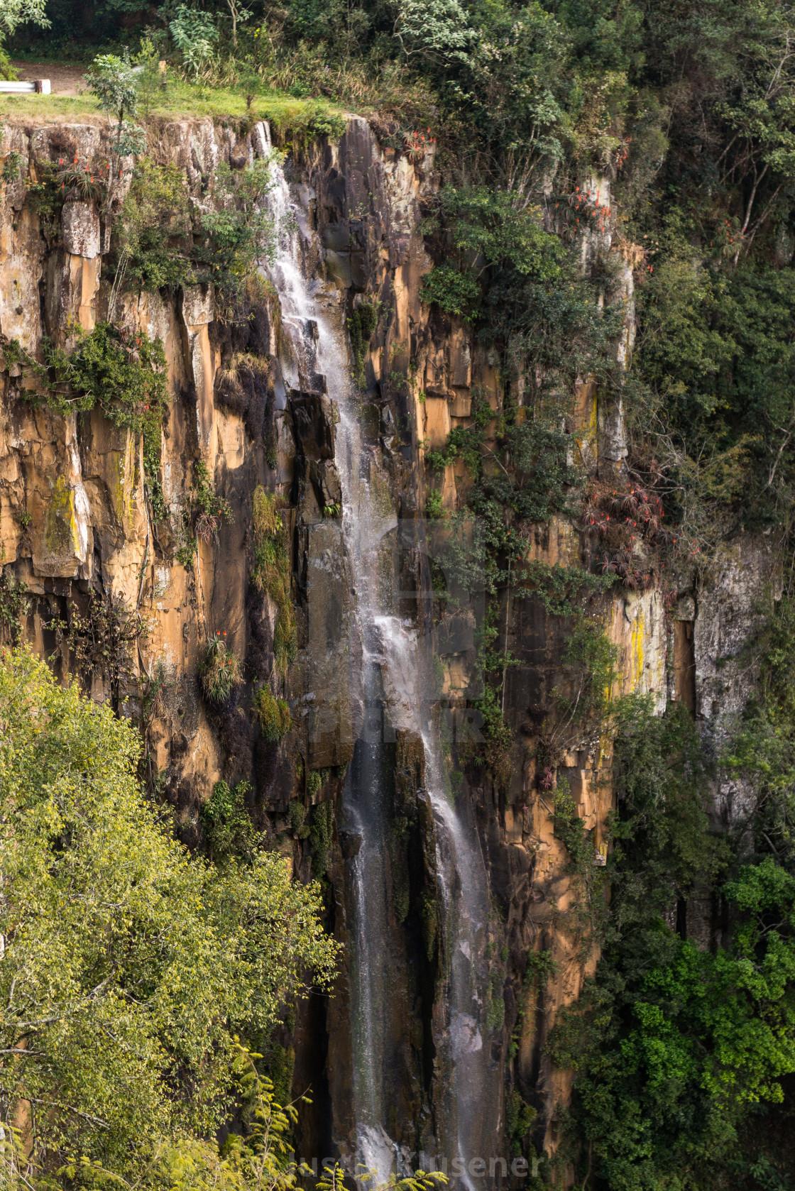 """Qunu Falls"" stock image"