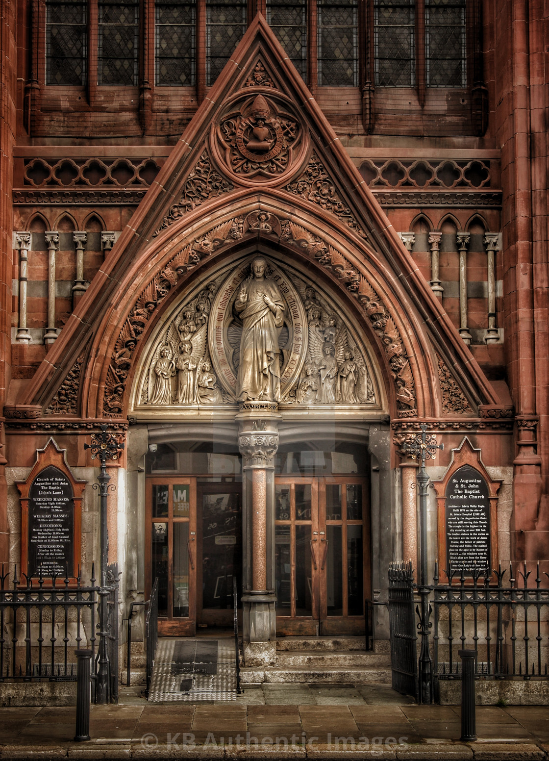 """Saint John's Church"" stock image"