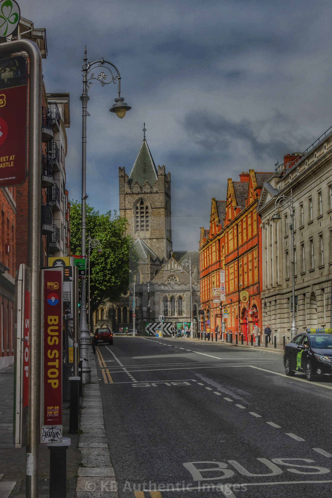 """Christchurch Cathedral Dublin"" stock image"