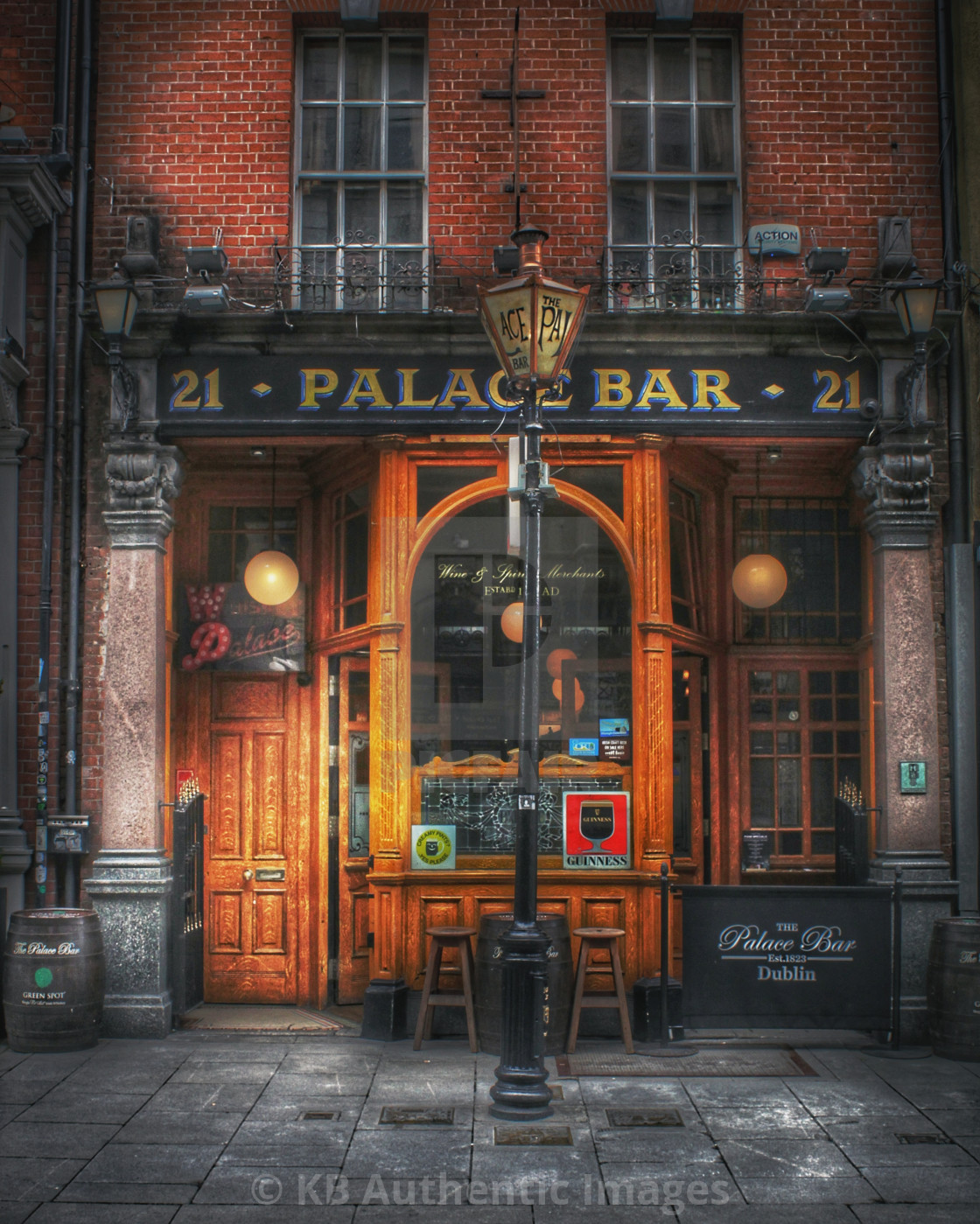 """Palace Bar Dublin"" stock image"