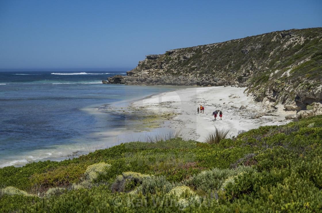 """Bales Beach, Kangaroo Island"" stock image"
