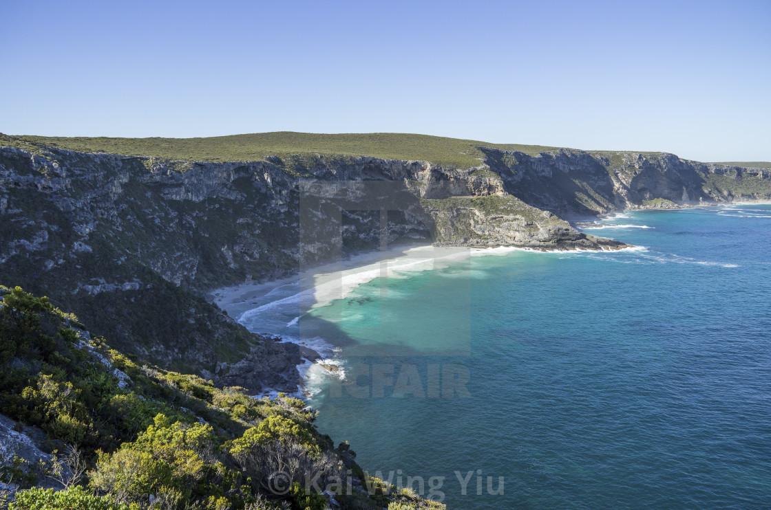 """The headland on Kangaroo Island"" stock image"