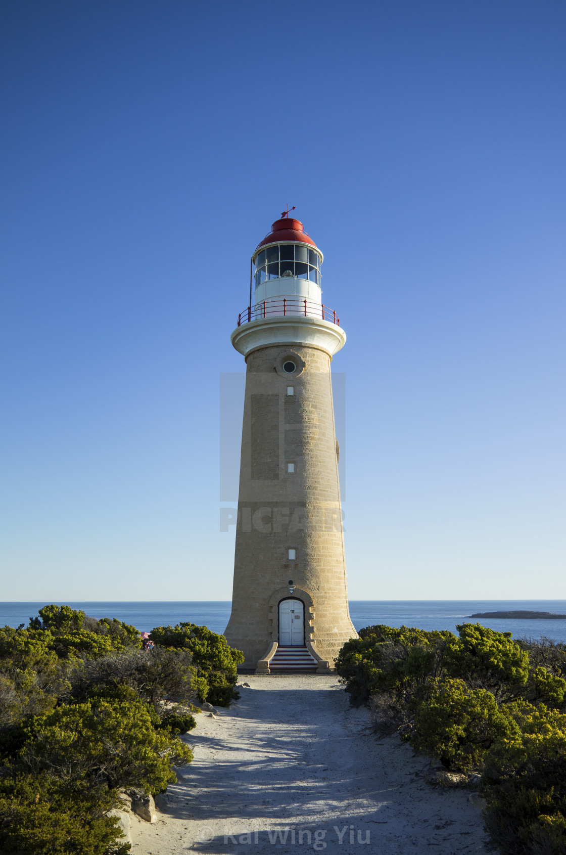 """Cape du Couedic Lighthouse"" stock image"