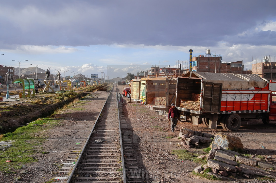 """Juliaca, Peru"" stock image"