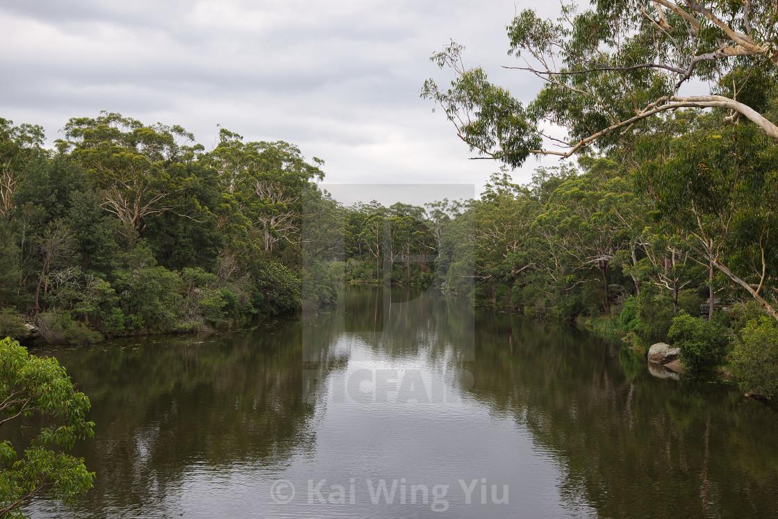"""Lake Parramatta"" stock image"