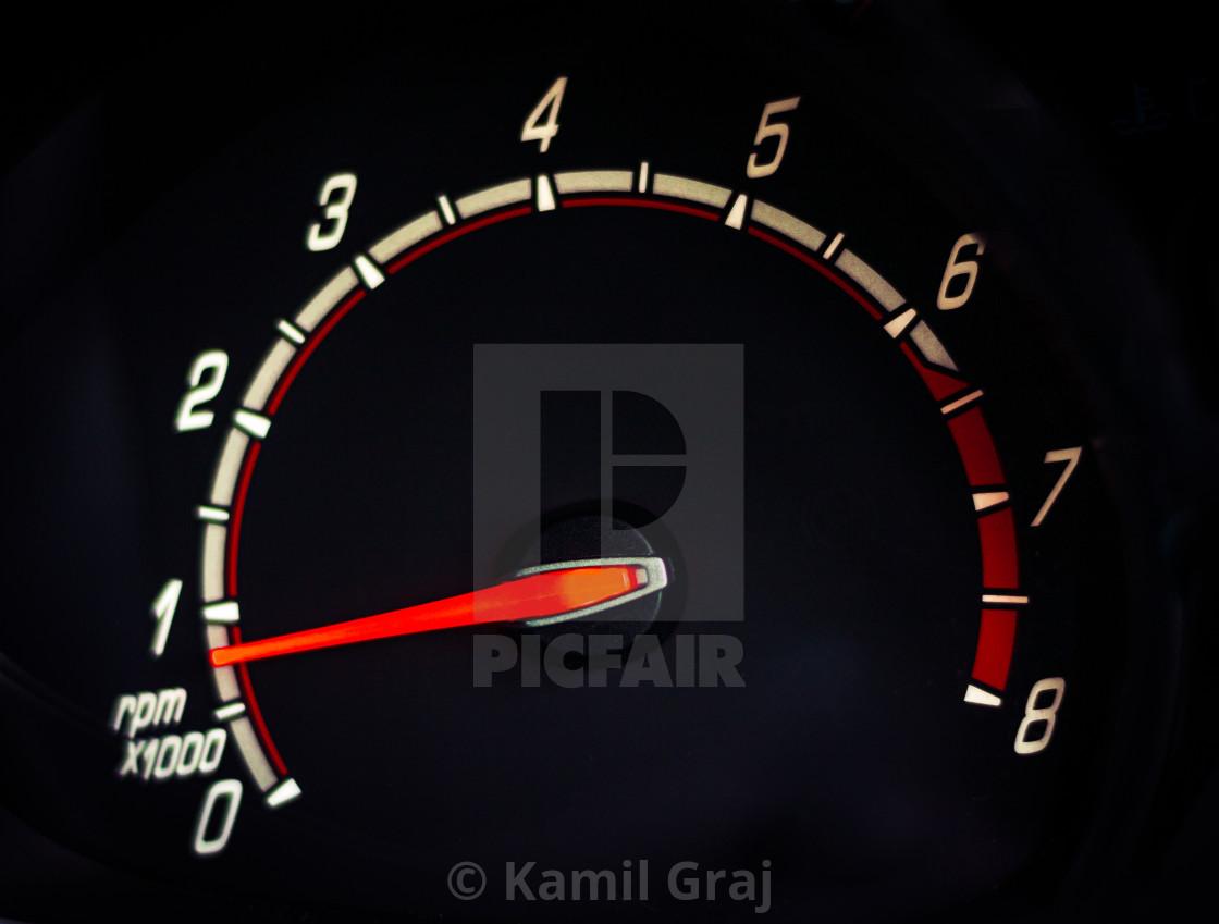 """Speedometer"" stock image"