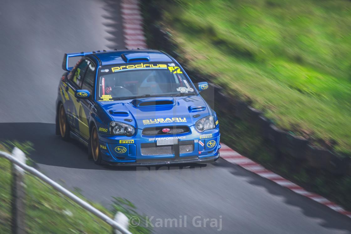 """""""Hill climb racing"""" stock image"""