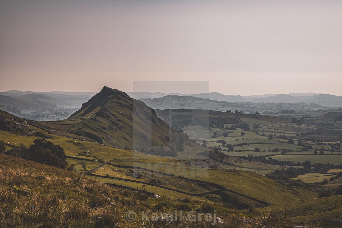 """Peak District Hills"" stock image"