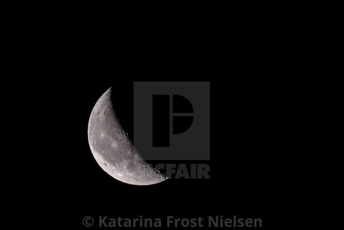 """""""Moon - august 2020"""" stock image"""