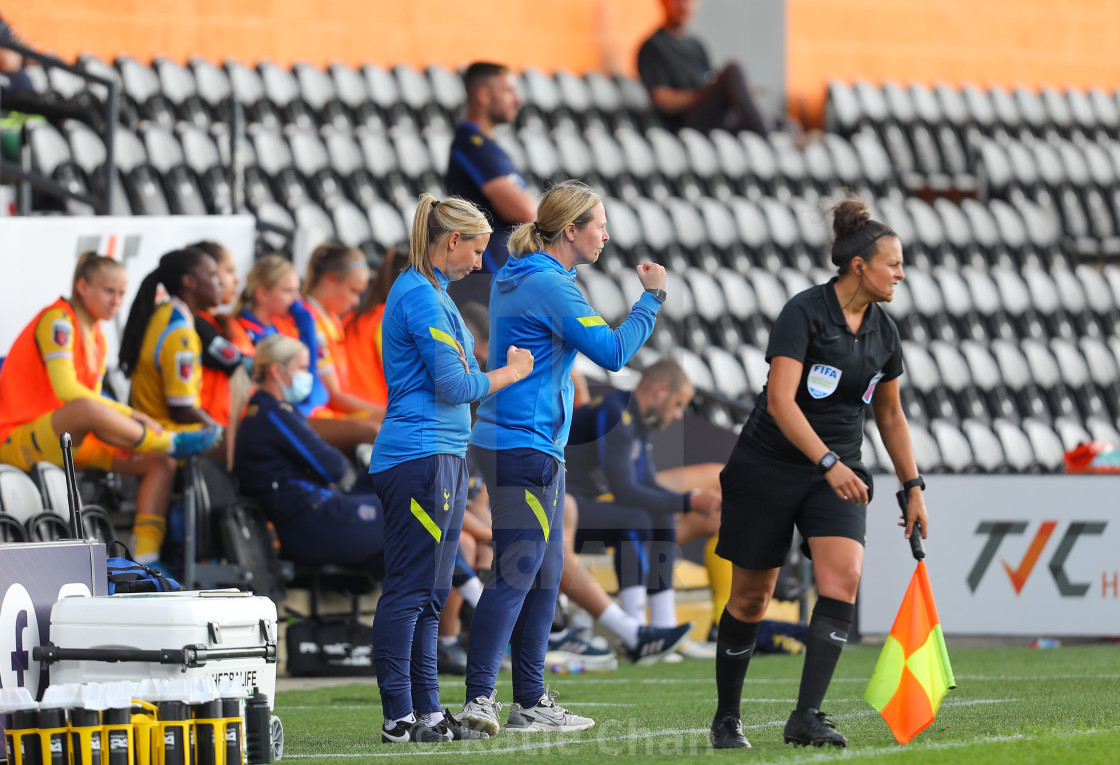 """Tottenham Hotspur Women v Reading Women - FA Women Super League - 26/09/2021"" stock image"