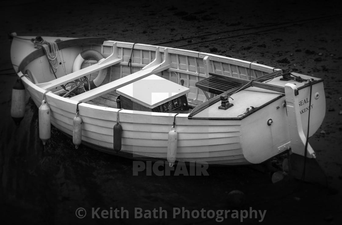 """Rowing boat Norfolk"" stock image"