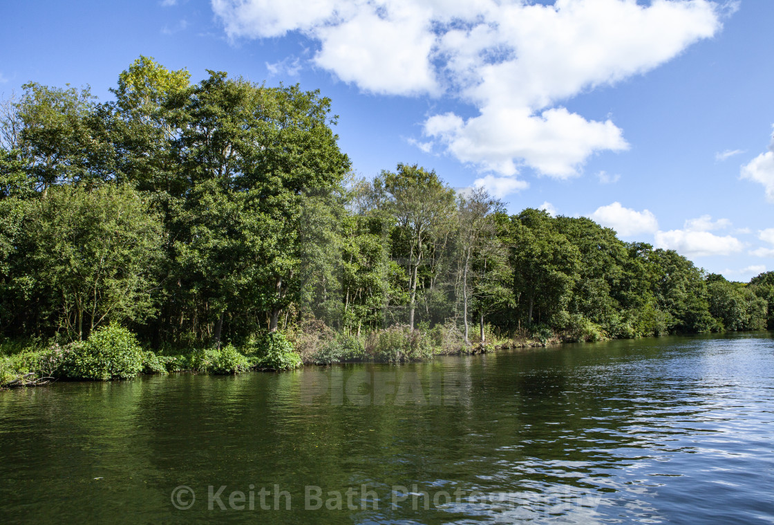 """""""The norfolk broads"""" stock image"""