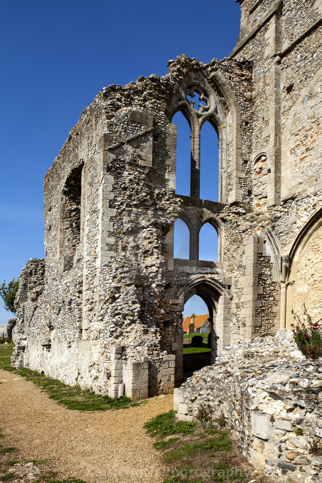 """Monastery near Wells Next The Sea"" stock image"