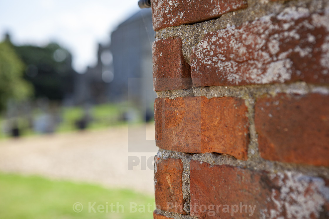 """Corner of a wall"" stock image"