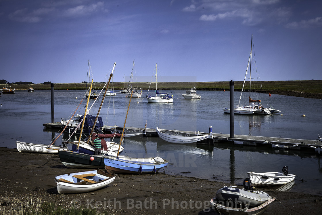 """""""boat Wells Next The Sea"""" stock image"""