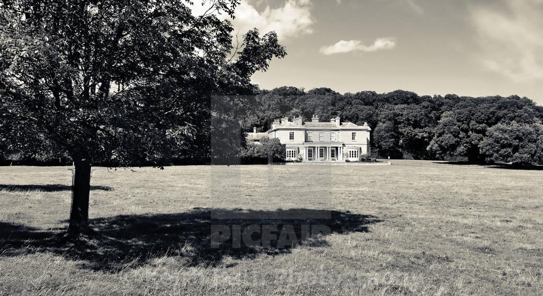 """""""Sheringham Park, Sheringham, Norfolk"""" stock image"""