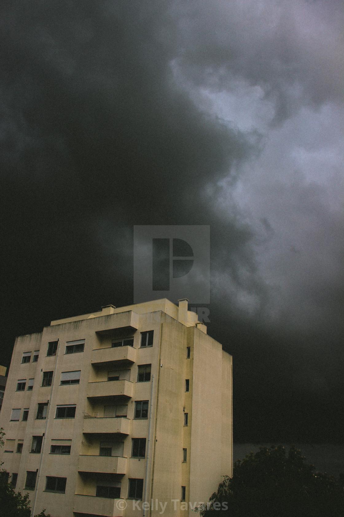 """""""Storm III"""" stock image"""
