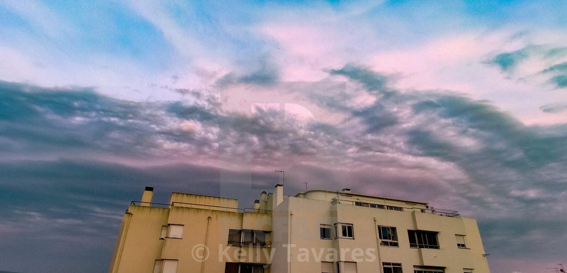 """""""Peaceful Sky"""" stock image"""