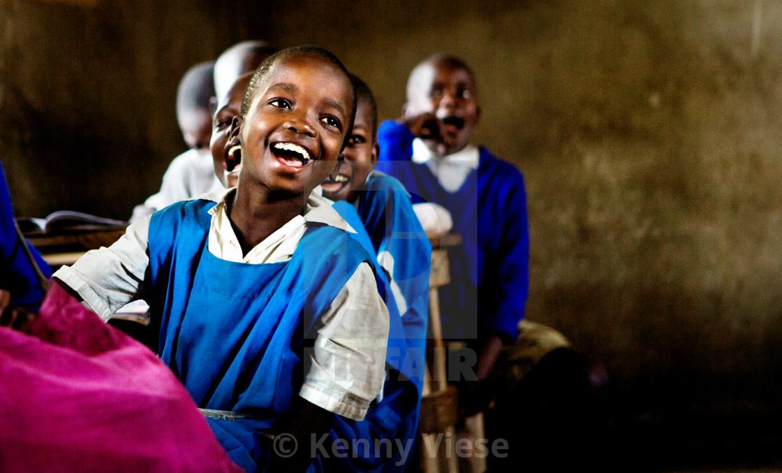 """Kisumu Student"" stock image"