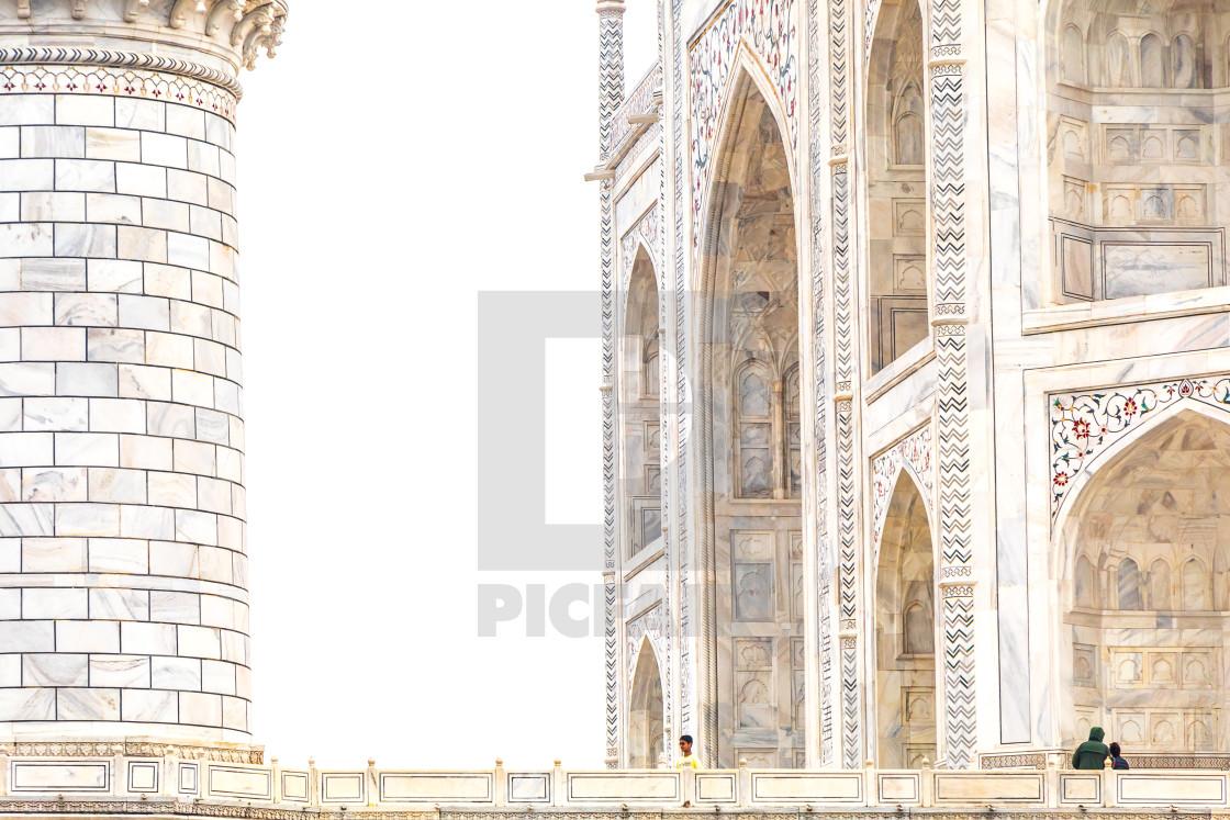 """Taj Mahal 2"" stock image"