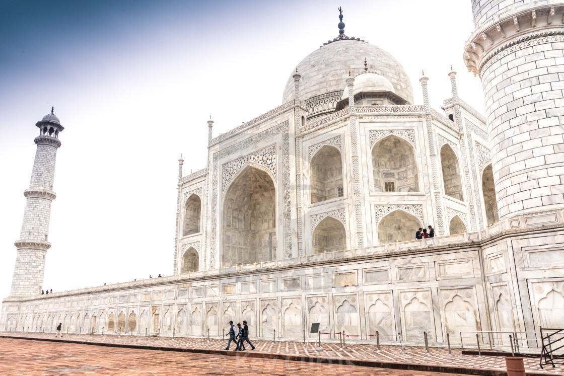 """Taj Mahal 4"" stock image"