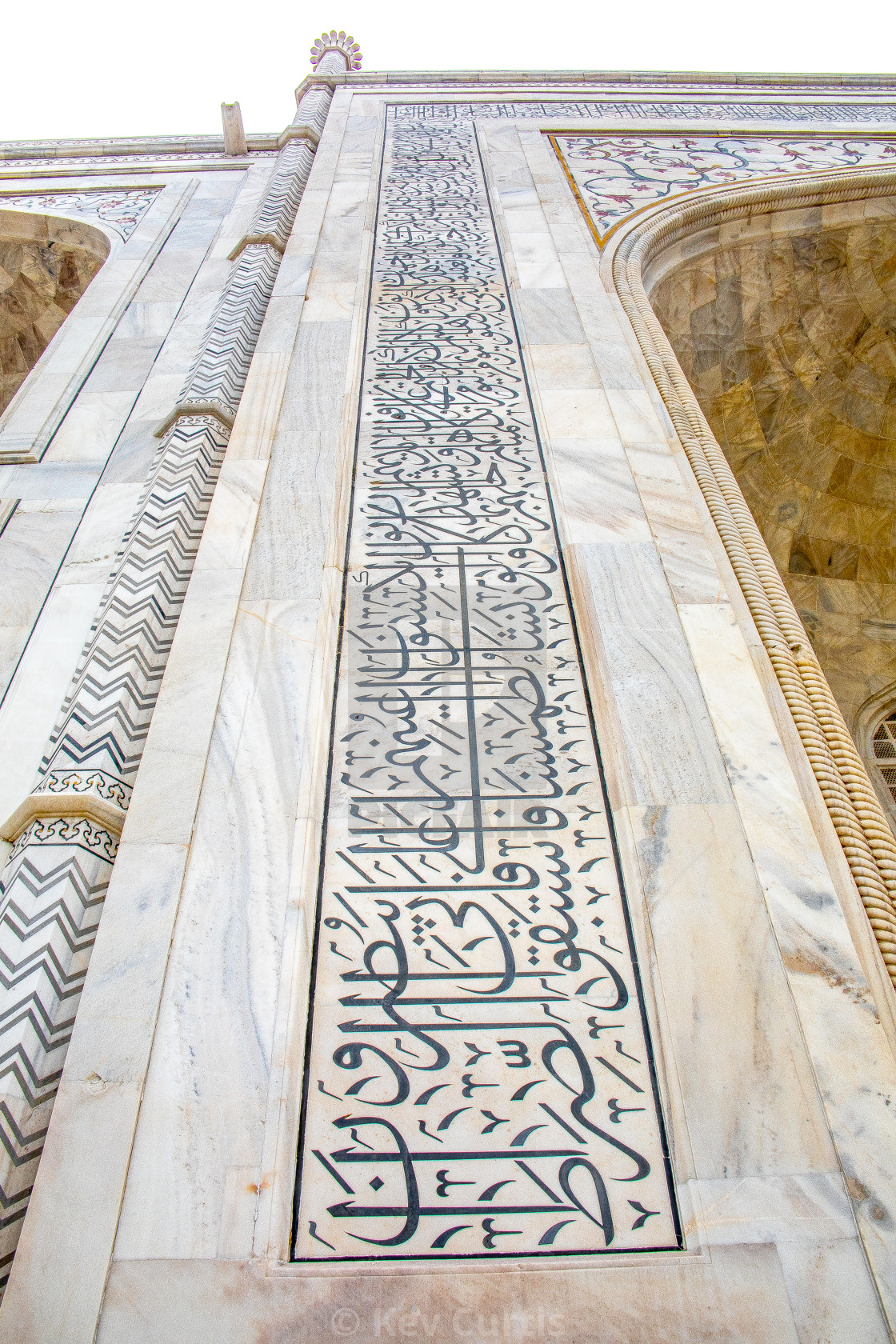 """Taj Mahal detail 4"" stock image"