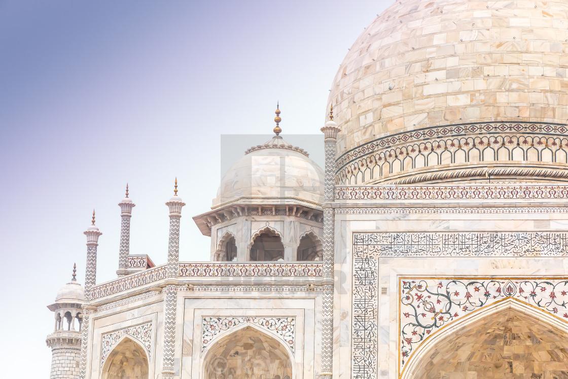 """Taj Mahal 5"" stock image"