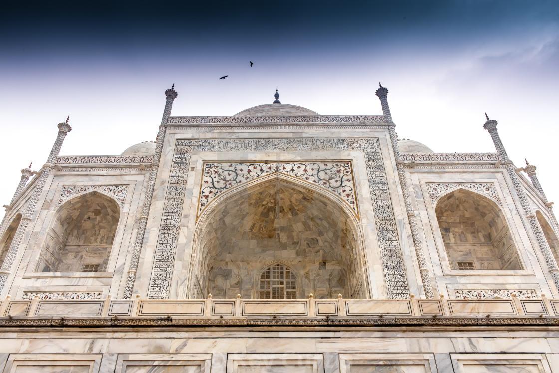 """Taj Mahal 6"" stock image"