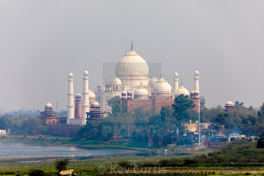 """Taj Mahal 8"" stock image"