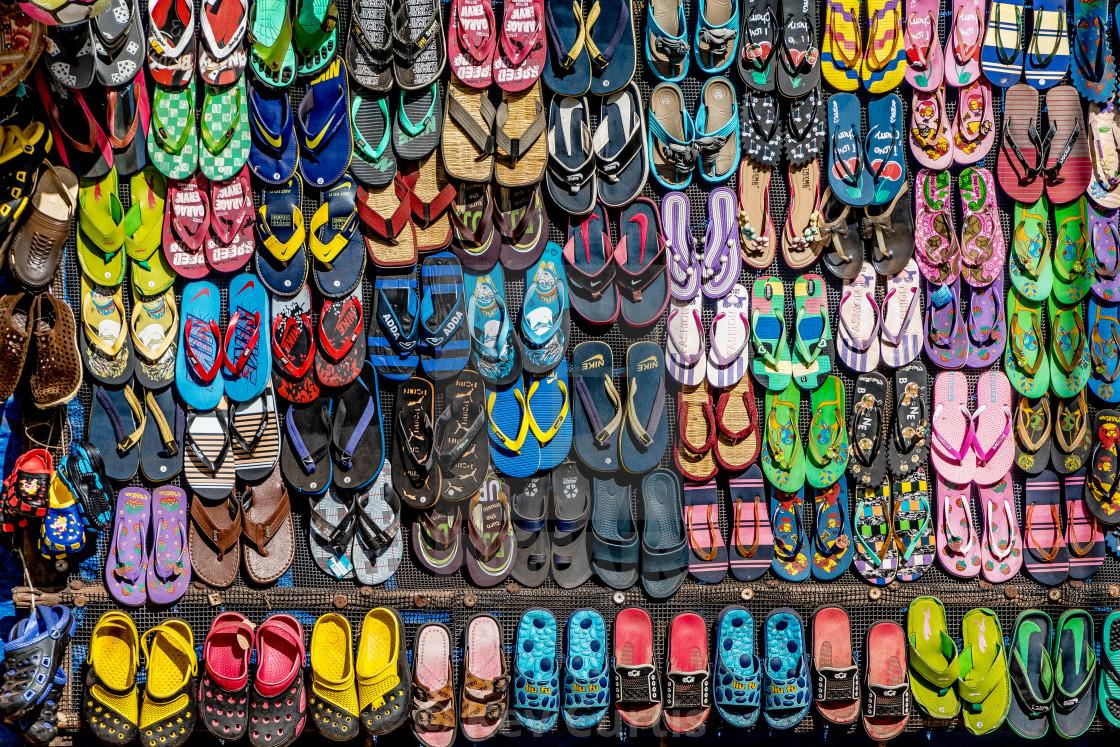 """Sandals"" stock image"
