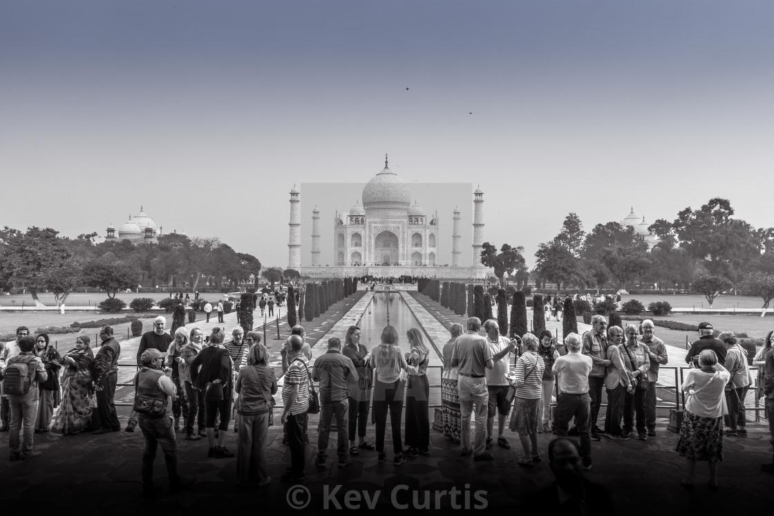 """Taj Mahal 9"" stock image"