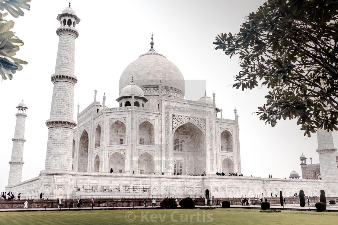 """Taj Mahal 10"" stock image"