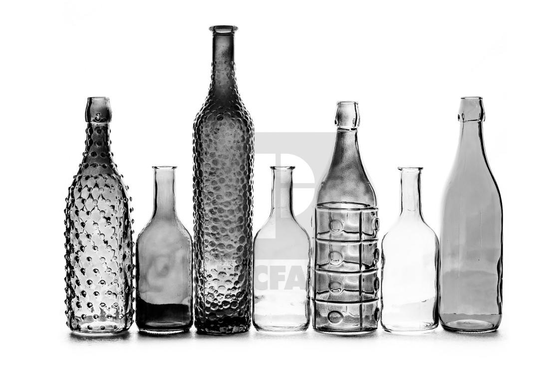 """""""Glass bottles"""" stock image"""