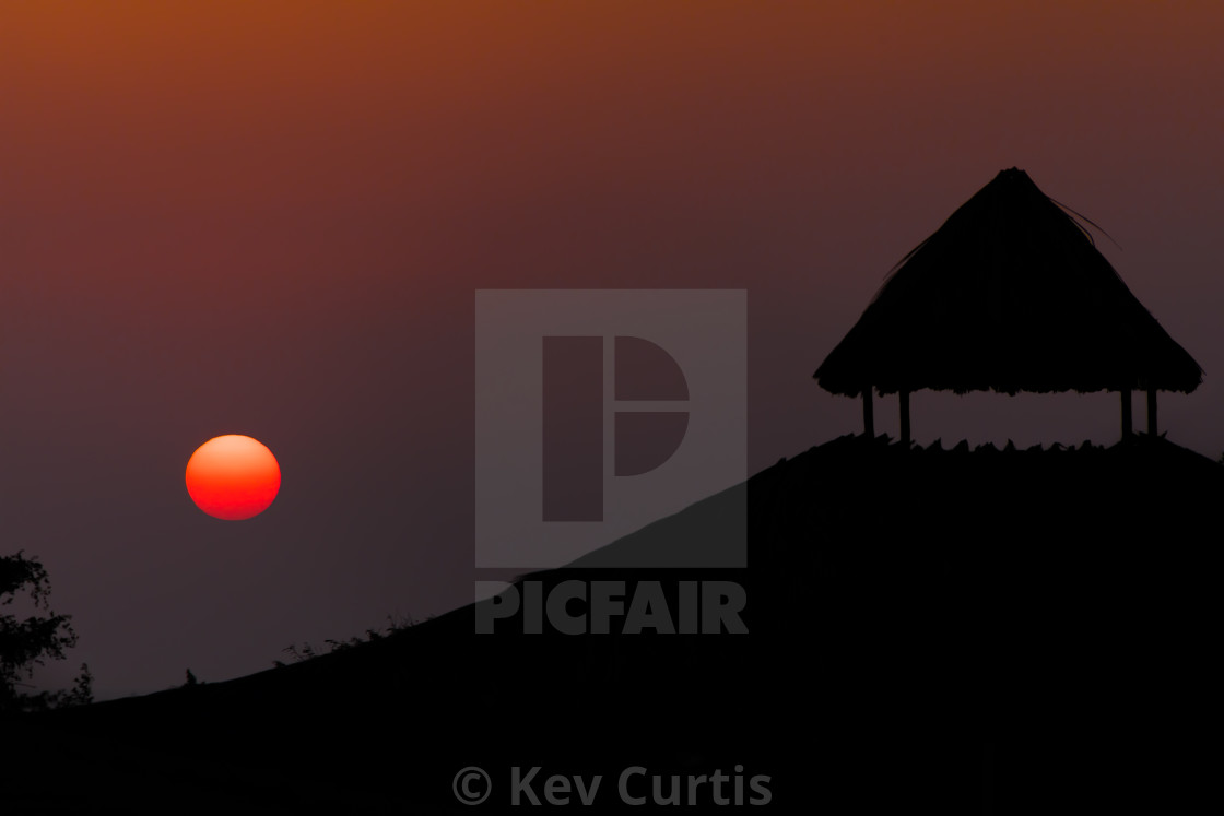 """""""End of day"""" stock image"""
