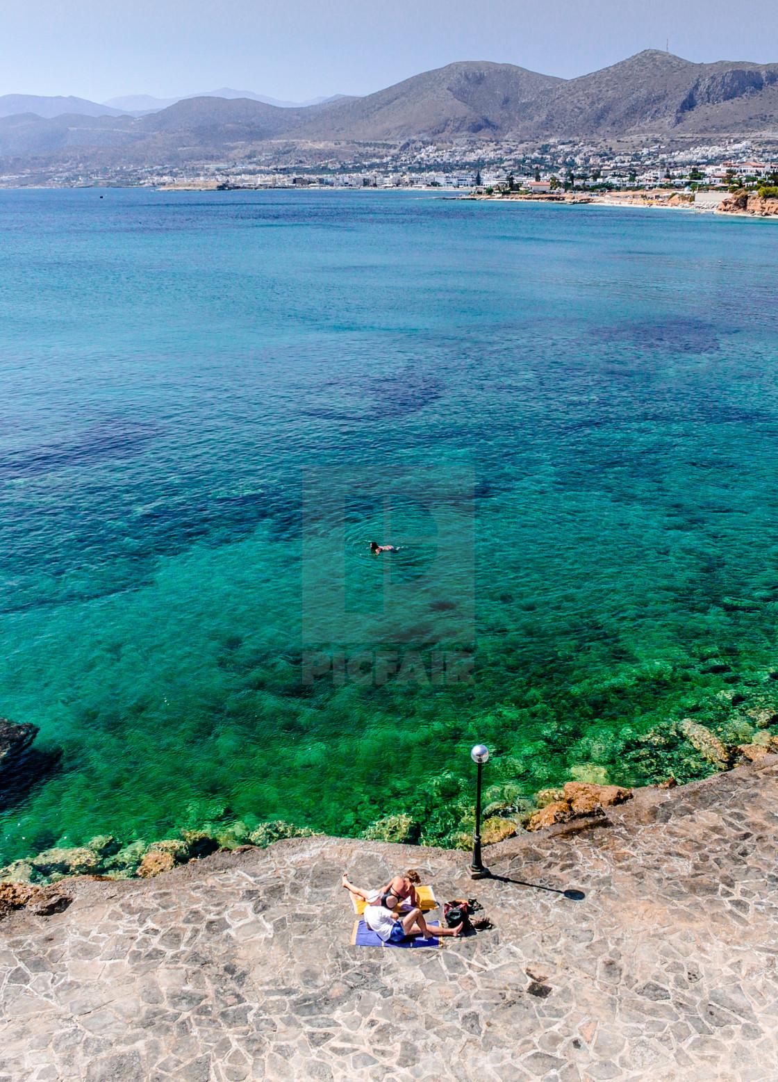 """""""Aquamarine"""" stock image"""