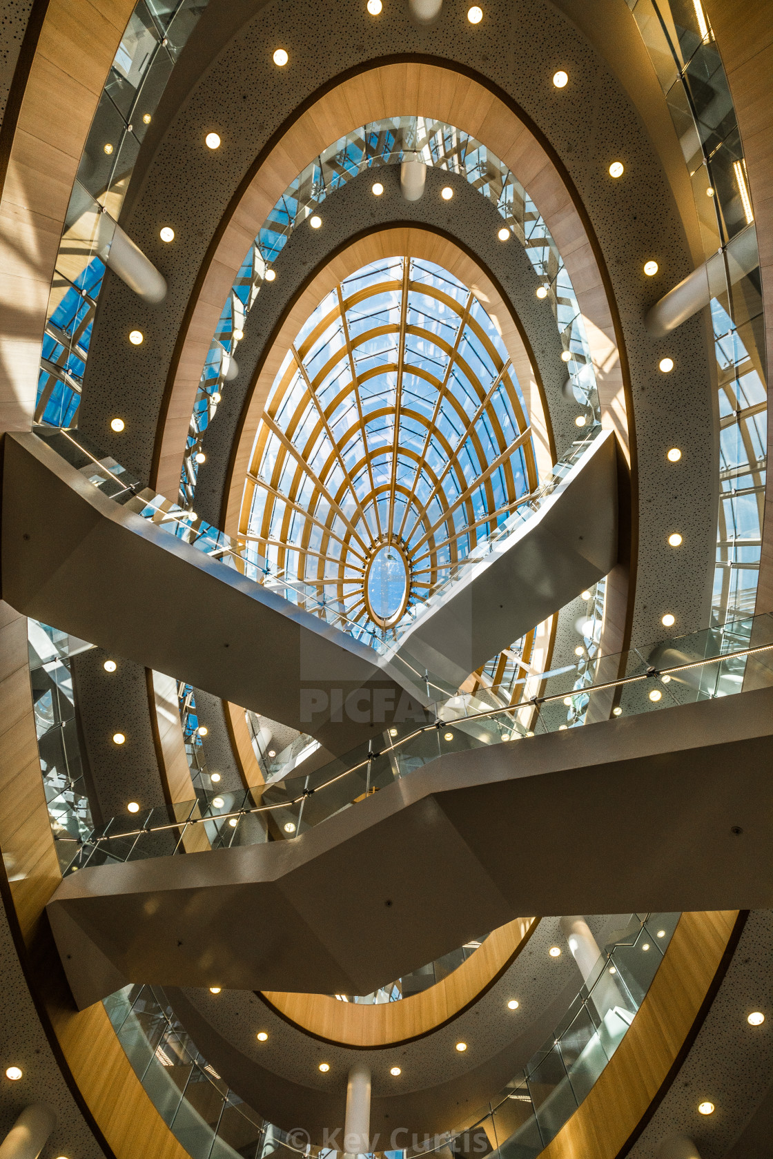 """""""Liverpool Central Library 2"""" stock image"""