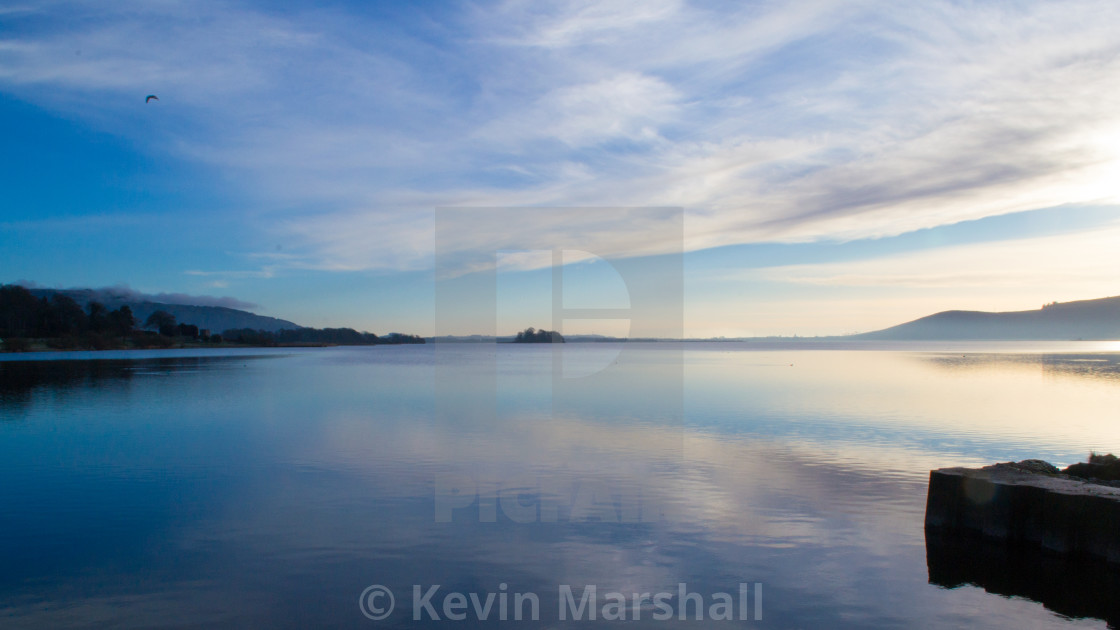 """Flat Calm"" stock image"
