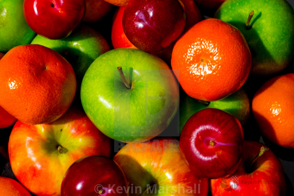 """""""Five A Day"""" stock image"""