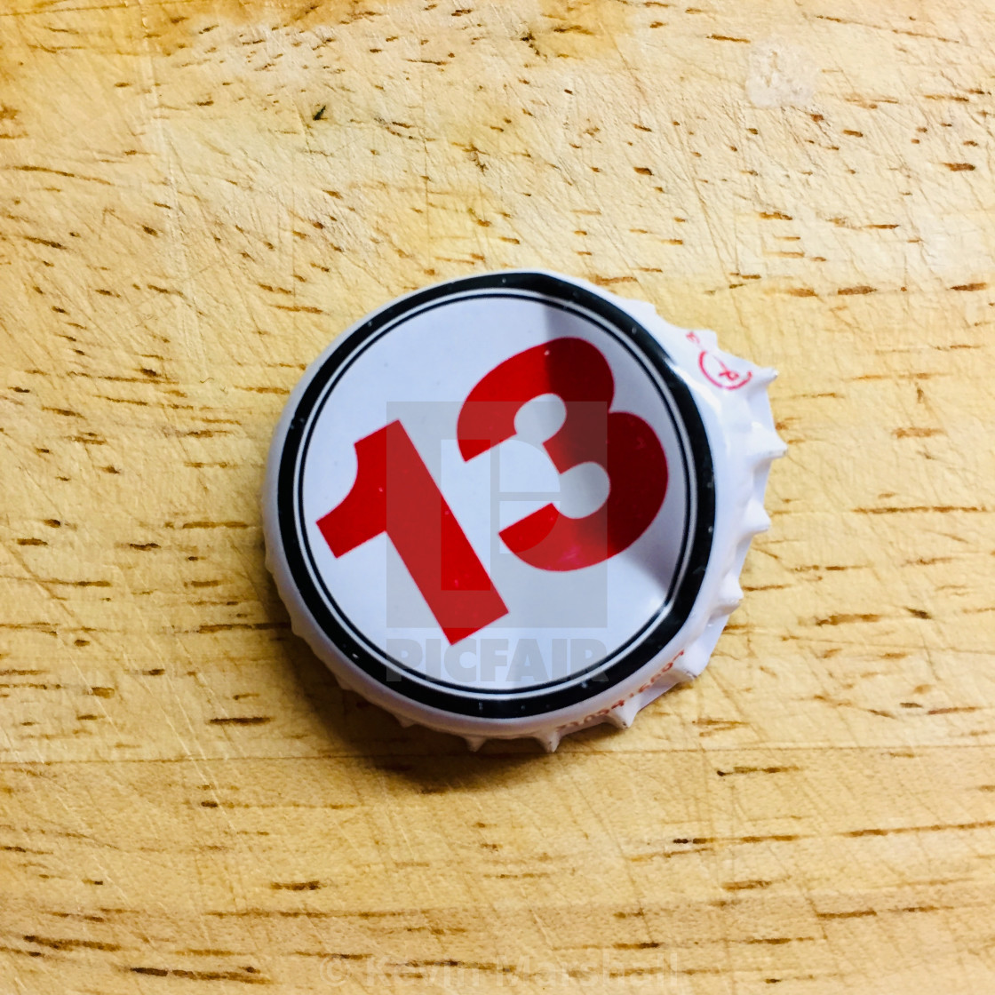 """""""lucky 13"""" stock image"""