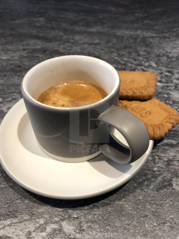 """Espresso & Lotus"" stock image"