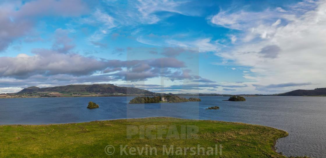 """Loch Leven Castle 02"" stock image"