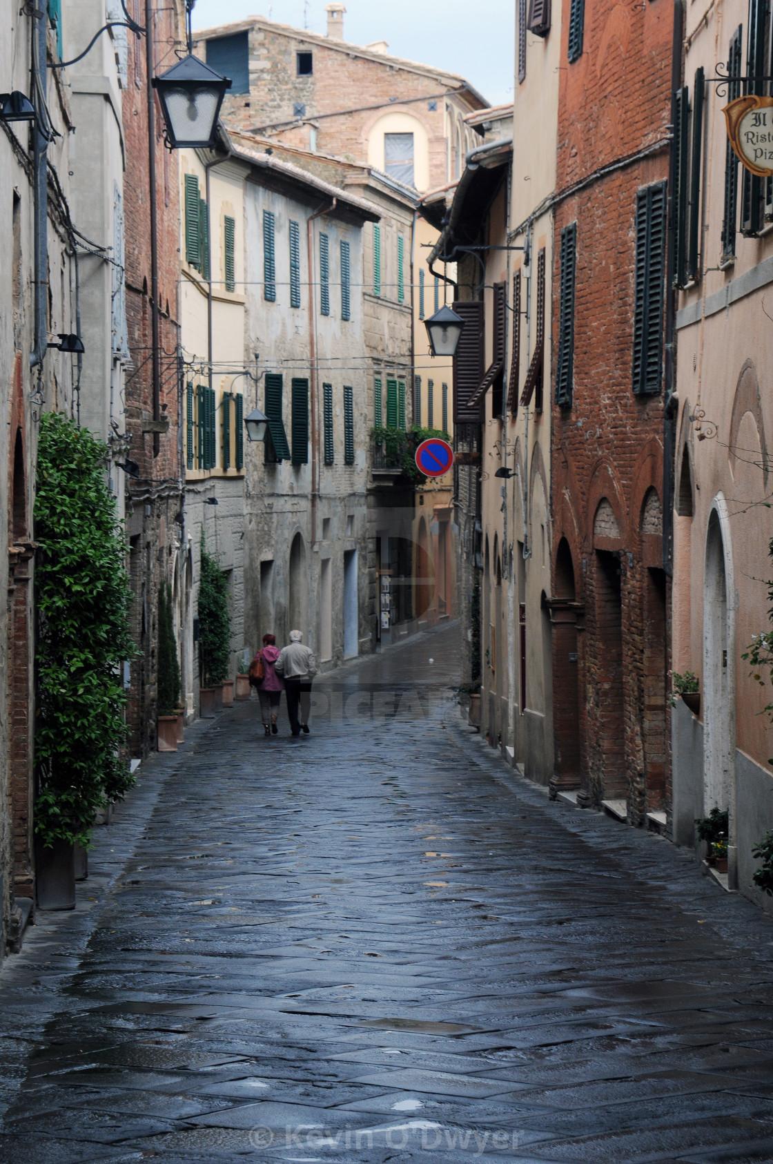"""""""Montalcino, Italy"""" stock image"""