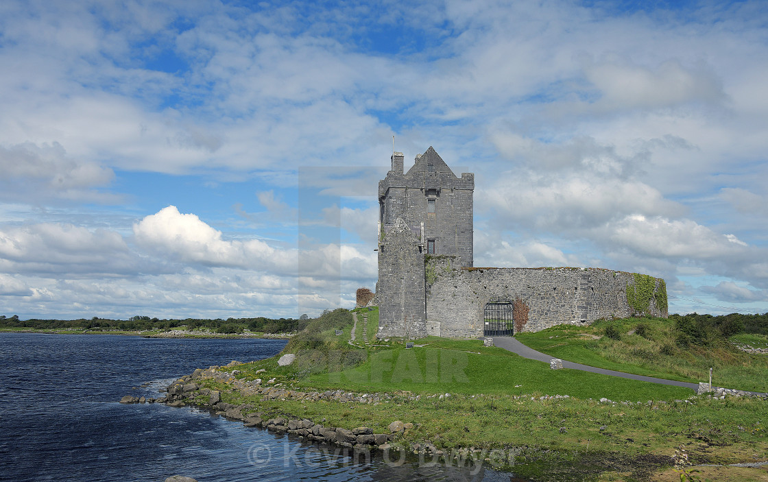 """Dunguaire Castle, County Galway"" stock image"
