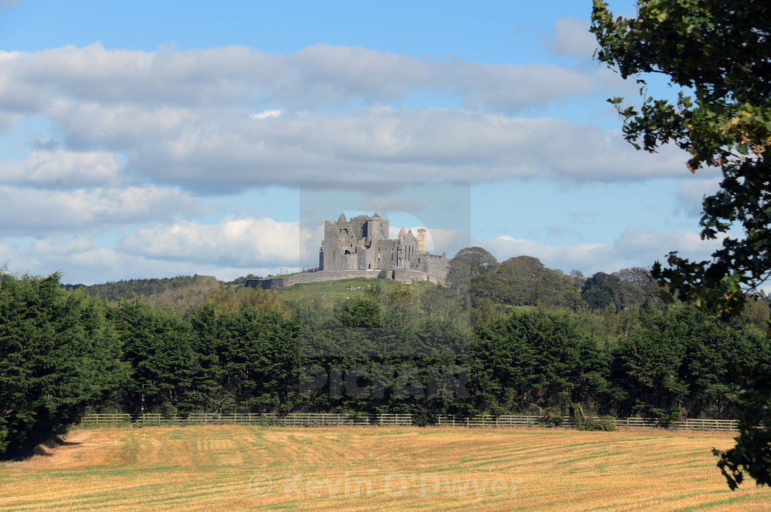 """Rock of Cashel, County Tipperary. autumn"" stock image"