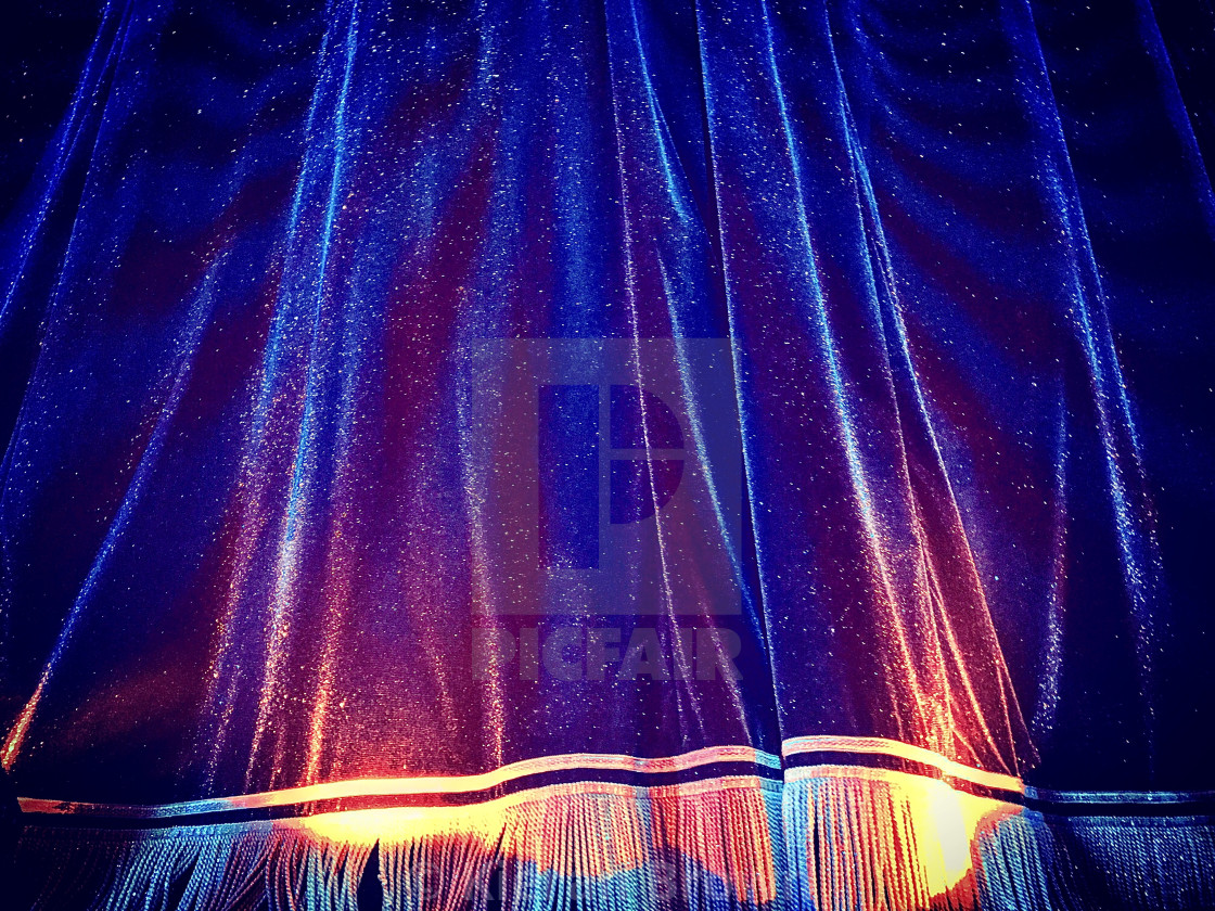"""""""The Curtain"""" stock image"""