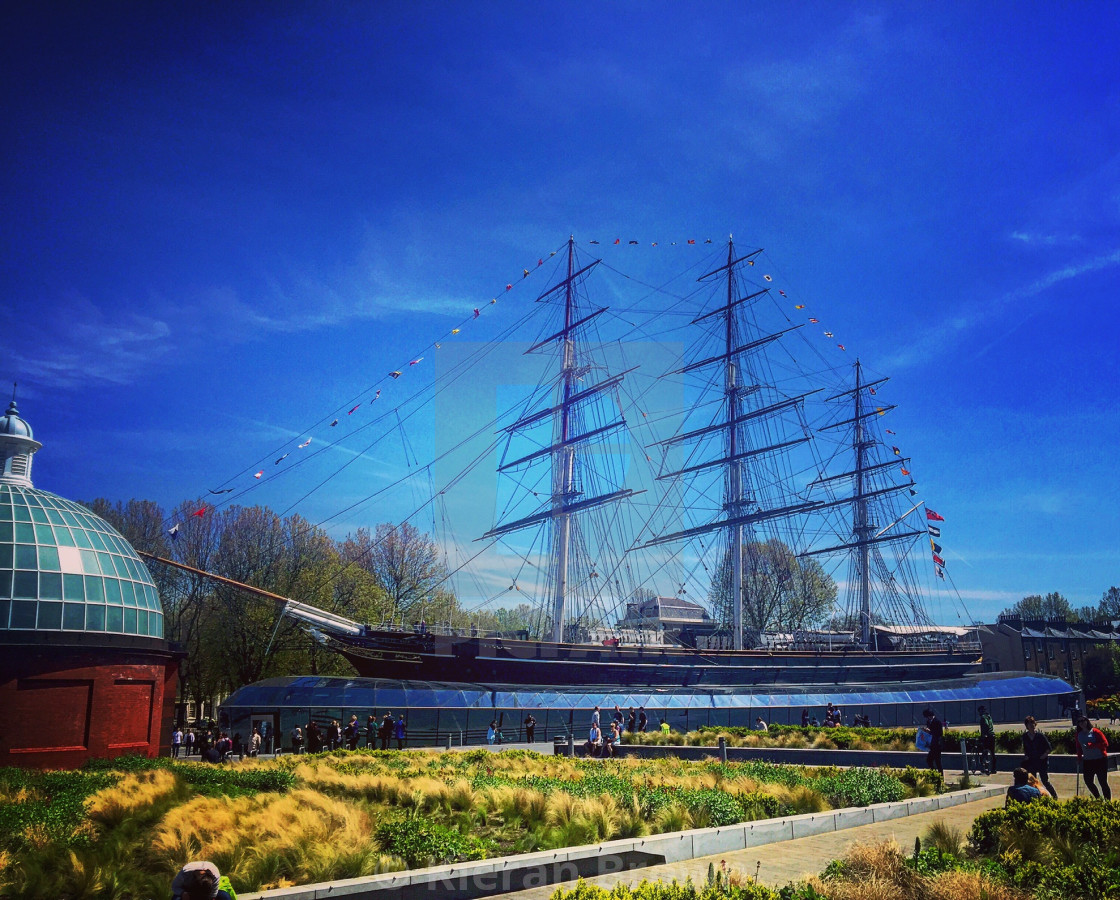 """""""Cutty Sark Colours"""" stock image"""