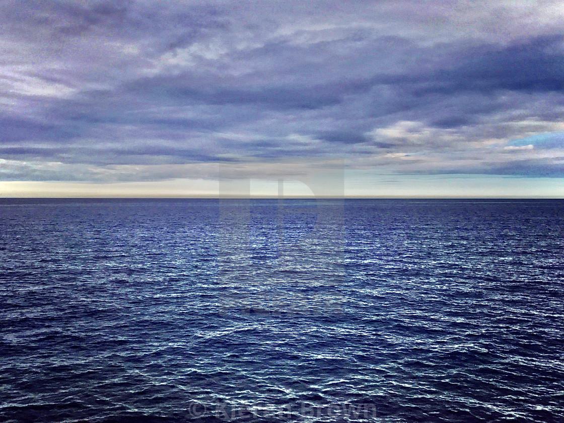 """Ocean Blues"" stock image"
